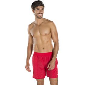 """speedo Solid Leisure 16"""" zwembroek Heren rood"""
